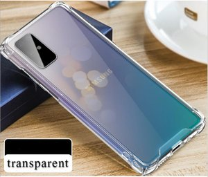 S20 mobile phone case Samsung Galaxy S20plus four-corner anti-fall shell S20 Ultra transparent shell goophone
