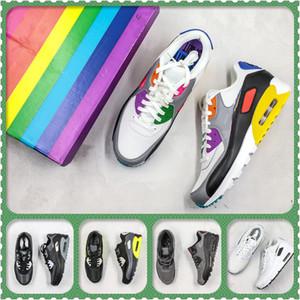 2020 Yeni Yastık kpu Erkekler Kadınlar Spor Ayakkabı Boyutu 36-46 çalıştıran Yüksek Kalite klasik Sneakers Ucuz 11 renk spor ayakkabı