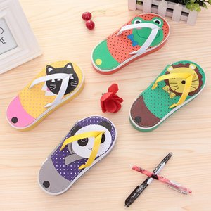 Flip Flop Large Capacity Pencil Bag Pen Case Pencil Bag Stationery Storage Organizer Case School Office Supply Stationery Cute