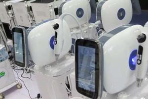 EMS máquina de injeção de alta pressão do enrugamento cuidados com a pele remoção microneedle rf mesotherapy arma