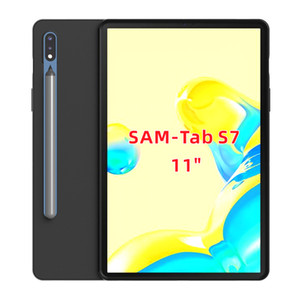 матовый Skid доказательство Мягкий ТПУ прозрачный чехол чехол для Samsung Galaxy Tab 10,5 S6 SM-T860 / T865 S6 облегченный 10.4 P610 P615 Tab A 8.0 T290 T295 T515
