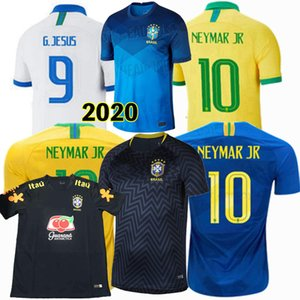 2018 2019 2020 2021 Brasile Jersey di calcio MARCELO FIRMINO P.COUTINHO MIRANDA G.JESUS Casemiro 19 20 21 uomini di calcio e bambini maglia da allenamento
