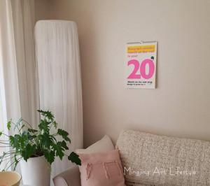 Ins простой модный цветной календарь 2020 года настенный календарь вечный календарь Фото фон предпочитаю слегка плотную бумагу