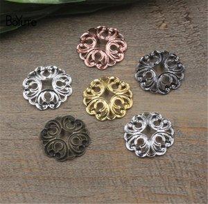 BoYuTe Filigree (100 Pieces / Lot) 20MM Métal Laiton Filigrane Fleur Conclusions Bricolage À La Main Bijoux Accessoires