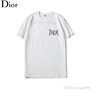 20 SS été T-shirt Marque Designer T-shirt, mode haute qualité imprimé à manches courtes respirant 100% coton T-shirt T4