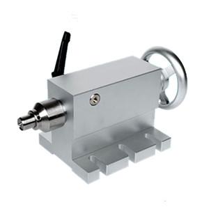 CNC imperméable à l'eau pour la hauteur de la poupée mobile 65MM Rotary Axis Centre 4 Un routeur CNC Fraiseuse axe Graveuse