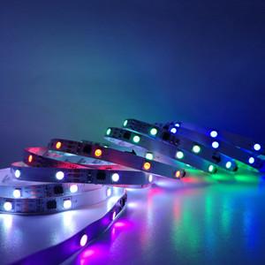LED-Streifen 2811 IC RGB 5050 LED-flexibles Licht 300-Modus 12V Smart Strip-Band-Band-HDTV-TV-Desktop-Bildschirm Hintergrundbeleuchtung BIAS-Lichter