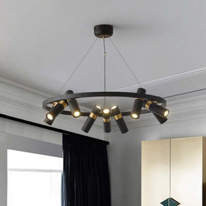 Industrial Style Retro Chandeliers Living Room led Lighting Clothing Store Pendant Lamps Modern Simple led Lamp Nordic Dining Room Light