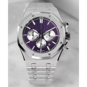 42mm 스테인레스 스틸 시계 Orologio di Lusso 디자이너 고급 시계 기계식 고급 자동 감기 크로노 그래프 기계식 남성용 시계