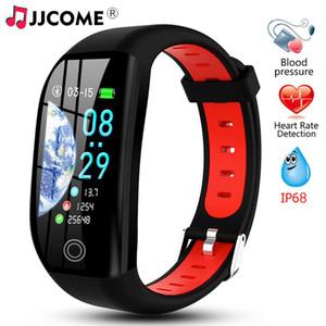 """F21 Pulsera de fitness GPS Activity Tracker 1.14 """"Reloj de presión arterial a prueba de agua Cámara inteligente Cámara Monitor de sueño Pulsera de salud Smartband"""