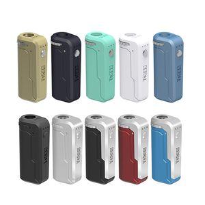 Original Yocan UNI Box Mod UNI Pro Akku 650mAh vorheizen VV Variable Voltage Battery mit magnetischem 510 Adapter für dickes Öl Cartridge