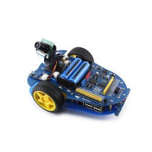 Freeshipping Frambuesa Pi Modelo B + 3 + cámara AlphaBot AlphaBot Smart Car Frambuesa Pi Robot Kit de construcción de código abierto Recursos Diseño
