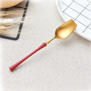 Spklifey Stahl Besteck Set Gold-Geschirr Western Silver Besteck Essen Besteck Geschirr Weihnachtsgeschenk Gabel Messer Löffel