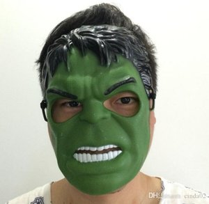 Hulk Mask Halloween Revenge Costume Party Cosplay Green Mask With Light