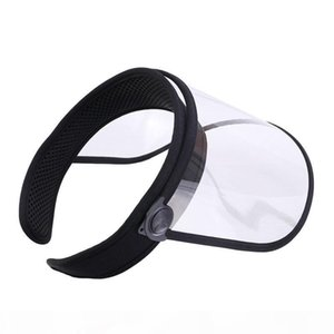 L High Transparent Thick Plastic Empty Top Hat Removable Hat Brim Dust Cap Head Protection Caps