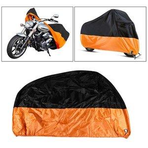L / XL / 2XL / 3XL / 4XL мотоциклов Обложка Водонепроницаемый Protect дождя пыли UV Motocycle чехол 190T Открытый Мотоциклетные протектор Эластичные Hem