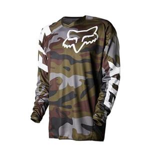FOX manches longues T-shirt maillot de descente hors-piste moto de combinaison de course de VTT à manches longues haut séchage rapide
