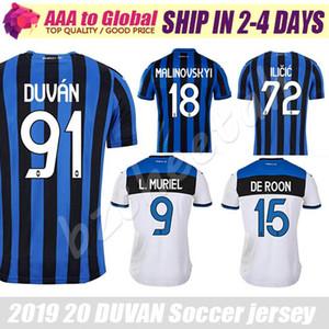 2020 Atalanta DUVAN Soccer Jersey 2021 Atalanta Ilicic Supporter et Joueur Jersey DE ROON Football Shirt L.MURIEL GOMEZ Jersey