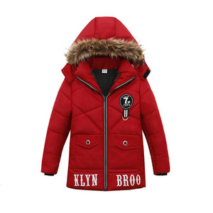 Fashion Winter Warm Child Coat Children Outerwear Kids Clothes Windproof Baby Boys Girls Jackets For 2-6 Years Old