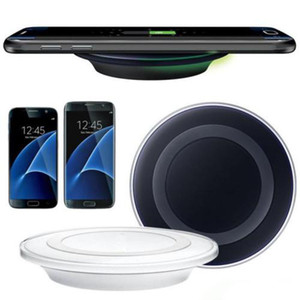 Горячая высокое качество универсальный Ци беспроводное зарядное устройство для Samsung Note8 Galaxy s7 Edge s8 plus note8 iphone 8 X мобильный pad