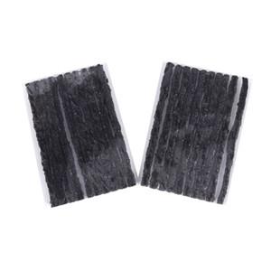 100cs Auto Tubeless Seal-Streifen Auto Vakuum Räder Reifen Tape Autoreifenreparatur Werkzeuge - 100 * 3,5 mm Schwarz A30