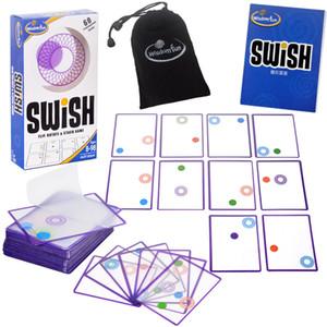 Mantık oyunu Çalkala - çocuklar Çocuklar için kartlar nokta masa oyunları oyuncak oynamak için bir Fun Şeffaf eğitim kart oyunu mantık oyunları