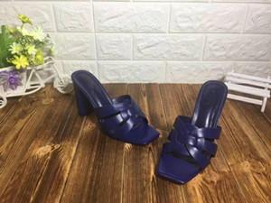 las mujeres los zapatos de lujo zapatos de los zapatos del diseñador talones de las sandalias versión original alta de verano correas cruzadas femeninas zapatillas de vestir sandalias mujers
