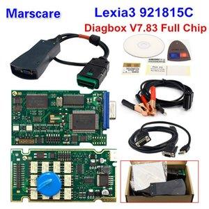 Car Diagnostic Tool Golden full chips Lexia3 Diagbox V7.83 Lexia3 PP2000 Firmware 921815C Lexia 3 For For