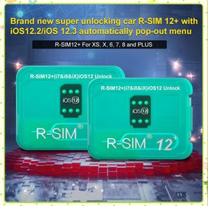 RSIM12 + V16 R SIM12 + SIM 12+ RSIM 12+ R-SIM 12+ Unlock для iPhone XS X 8 7 PLUS Автоматически разблокировка меню для iOS 12.2-12.3 MQ100