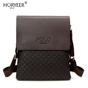HORYEER Famous Brand polo Bag Men Messenger Bags Crossbody Small sacoche homme Satchel Man Satchels bolsos Travel Shoulder Bags