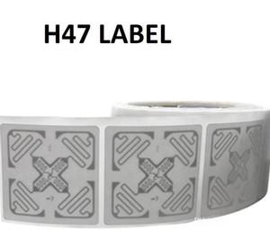 500pcs / lot RFID UHF Smart Label Im pinj M4E etiqueta RFID H47 Coated Paper Etiqueta no tripulado al por menor Etiqueta ISO180006C etiquetas 50 50MM * para el seguimiento