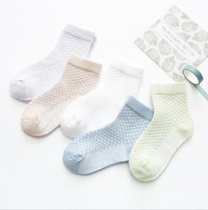 Kids socks new baby boy girl Summer socks children cotton stocks good quality Cotton Soft Socks Baby Candy Color