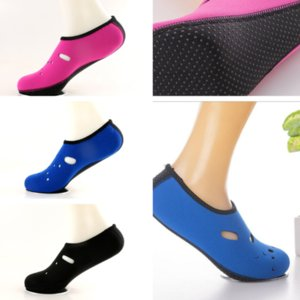 Sapatas da praia Quick Dry antiderrapante Mergulho Meias Piscina Surf Mergulho Sock Swimming Fins Adulto Flippers água Shoes