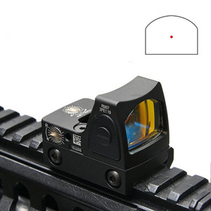 2019 New Trijicon RMR Adjustable Style Red Dot Sight Scope With Protect Rubber Cover For Hunting