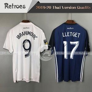 2019 MLS 로스 앤젤레스 갤럭시 축구 유니폼 19/20 새로운 LA 갤럭시 저지 # 9 이브라히모비치 10 Giovani KAMARA 2020 홈 떨어져 축구 셔츠