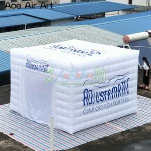 Özelleştirilmiş Oxford Kumaş Aydınlatma şişme küp çadır, Şişme küp ışık çadır, Sergi Parti Olay için fuar çadırı