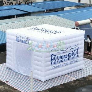 Cube Oxford Party Beleuchtung Customized Zelt, Handel Tuch aufblasbarer Würfel-Licht-Zelt Erscheinen-Zelt, Ausstellung Ereignis Schlauchboot zum Gvcks