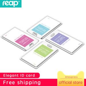 Reap 7175 Portatarjetas de acrílico transparente Portatarjetas de alta calidad Portatarjetas de cristal Tarjeta de identificación de bus Plástico
