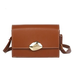Crossbody Shoulder Bag PU Leather Small Messenger Bags High Quality Flap Square Bag Fashion Women Handbags