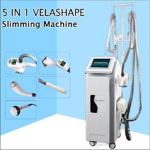 Supersónico Operação do Sistema infravermelho forma máquina vela Velashape massagem cilindro de vácuo presoterapia emagrecimento máquina GLP emagrecimento