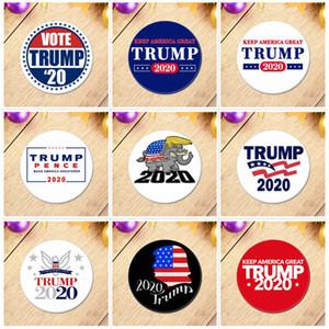Trump 2020 Metal Rozet Amerika Başkanı Cumhuriyetçi Kampanya Broş Donald Trump Coat Takı Broş Amerika Büyük Rozet BH3725 TQQ tutun