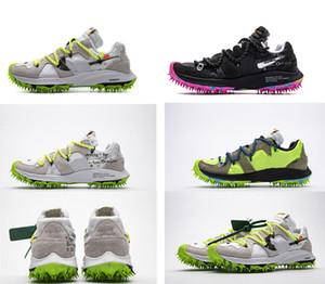 2019 Tasarımcı spor ayakkabısı Yeni KAPALI Yakınlaştırma Terra Kiger İlerleme CD8179-100 Spor Ayakkabılar 5. Man Kadınlar Koşu Ayakkabı Siyah Beyaz Yeşil Atlet