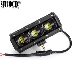 Única linha 14 '' 20 '' 27 '' 34 polegadas LED Light Bar para o caminhão 4x4 Offroad Trailer 4WD SUV Boat ATV UAZ Driving luzes de trabalho 12V 24V