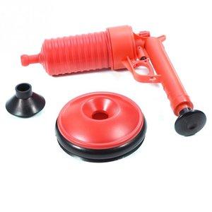 Sıcak 1 Set Yeni Kırmızı Lavabo fonksiyonel moda İçin İki Suckers ile Buster'ı Tahliye Temizleyici Güçlü Emiş Piston Toilet Kulp