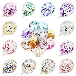 """12"""" Латекс конфетти Воздушные шары гелием Bachelorette годовщину свадьбы Birthday Party Baby Shower украшения Букет"""
