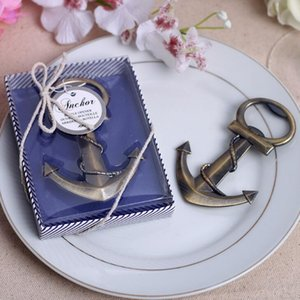 Free shipping Antique Style nautical themed anchor beer bottle opener party favor opener Wedding Favors Gifts LX2111