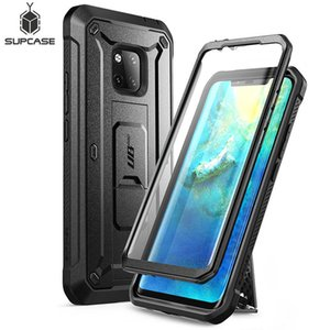 Cheap Fitted Cases For Huawei Mate 20 Pro Case LYA-L29 SUPCASE UB Pro Heavy Duty Full-Body Rugged Case with Built-in Screen Protector