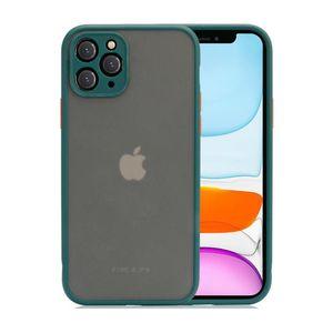 Matte protection en caoutchouc de la peau de cas objectif de couverture pour Apple iPhone 11 Pro SE 2020 X Max XR 6 7 8 Plus