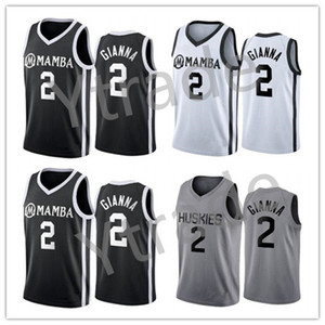 2020 NCAA UConn Huskies Hommage spécial College Gianna Maria Onore 2 Gigi Mamba Haute école Memorial 8 24 33 Bryant Basketball Maillots