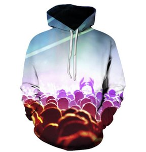 Beer Bead Digital Printing Hoodie Men's Sports 3D Sanitary Clothes